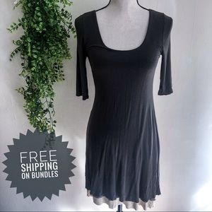Bailey 44 Revolve Olive Layered Dress Small